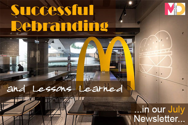 July Newsletter Successful Rebranding And Lessons Learned
