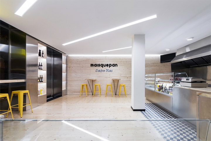 Bakery Interior Design maisquepan bakery uses function and flash – commercial interior