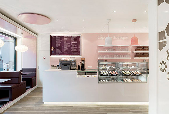 The Cupcake Boutique New Look Commercial Interior Design News