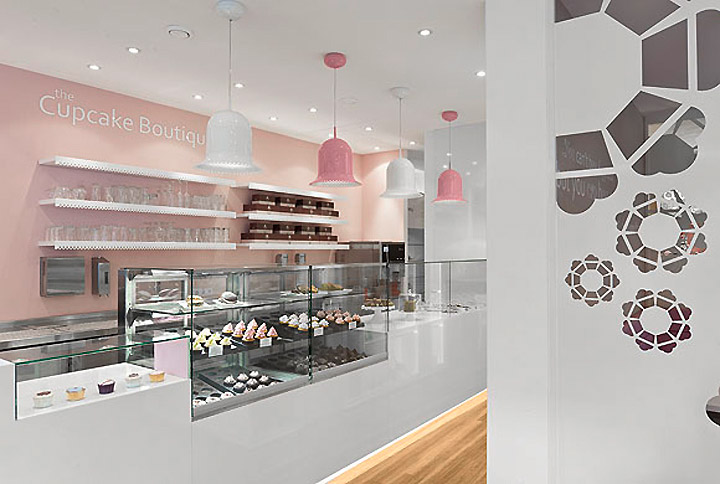 The Cupcake Boutique New Look Commercial Interior Design