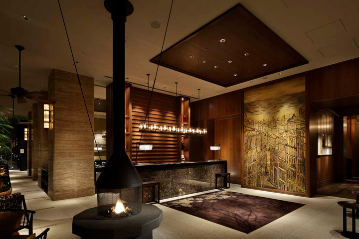 Oriental Interior Design Oriental Hotel's New Look  Commercial Interior Design News .