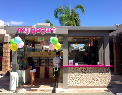 Yogurt Shop Design