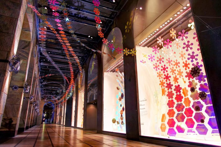 Interactive Architecture Holiday Storefront Design Commercial