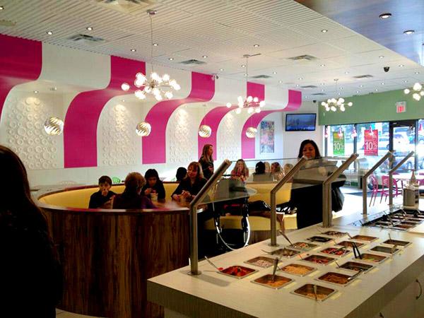 CC Swirls Frozen Yogurt Shop Design In Canada Commercial Interior News