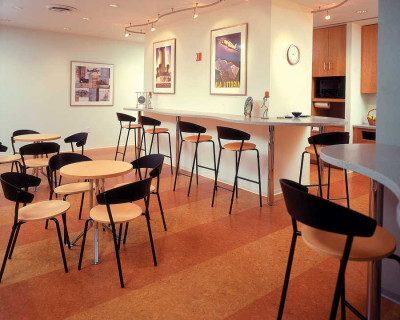 Cork Flooring in Restaurant Design