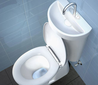 Water Saving Smart Sustainable Toilet Systems Commercial Interior