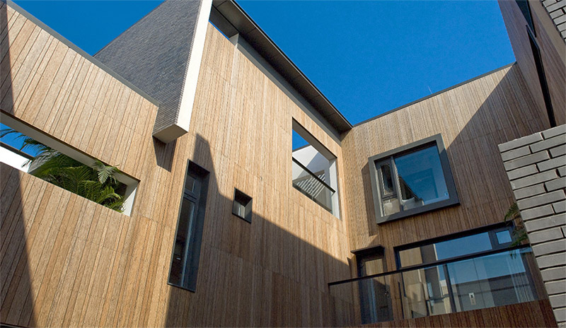 Bamboo Exterior Wall Siding And Other Applications