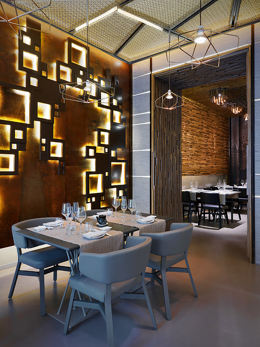 Intricate Details of a Sushi Bar Restaurant Design – Commercial Interior Design News  Mindful ...
