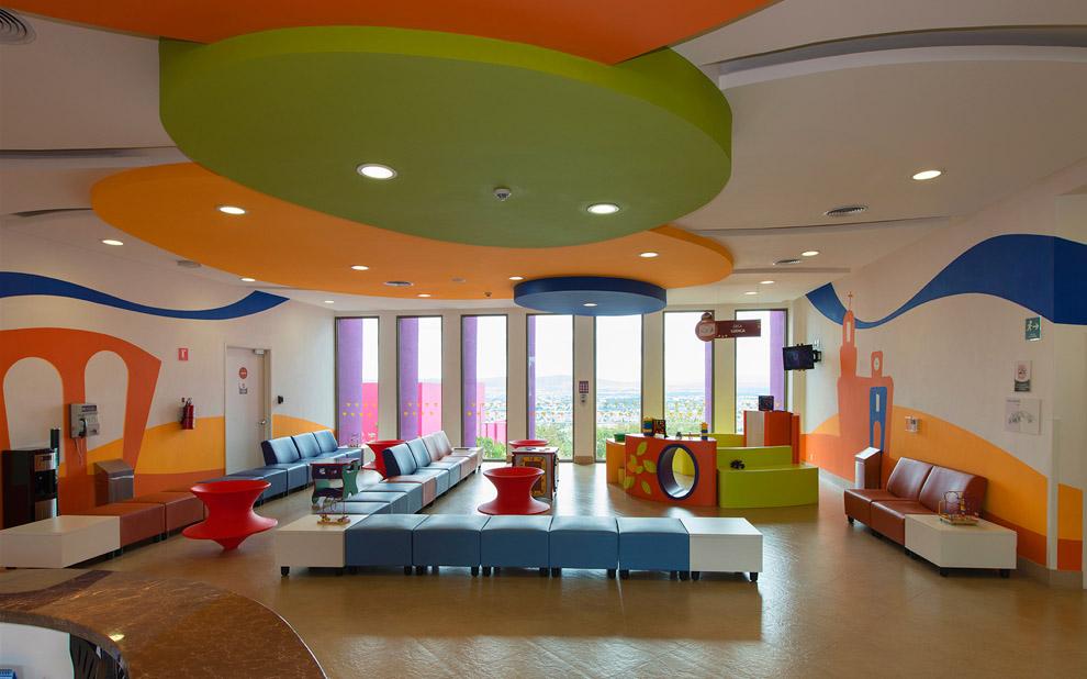 Colorful Hospital Design Gives Hope Commercial Interior Design News