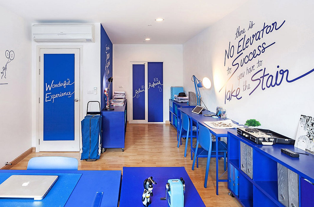 Brightly Colored Co-working Office – Commercial Interior Design News