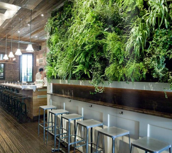 Repurposed Materials Give Restaurant Some Flair