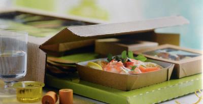green echo-friendly packaging