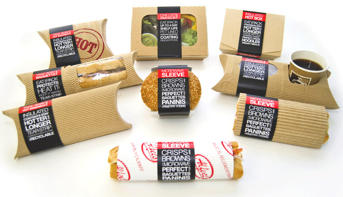 echo-friendly packaging for tacos