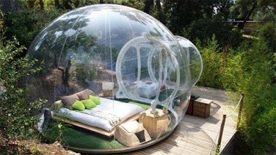 Bubble Hotel Design
