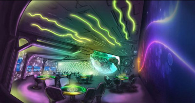 Spaceship Restaurant Design