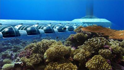 Underwater Hotel Design