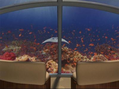 Underwater Hotel Suite View