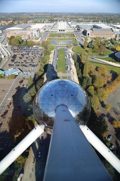 Atomium Panoramic View