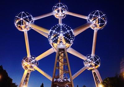 Atomium Unusual Design