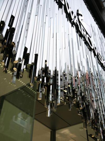 Crystal Storefront Design