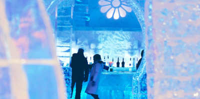 Ice Hotel Bar Design