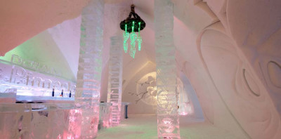 Ice Hotel Interior Design