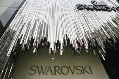 Swarovski Store Front Design