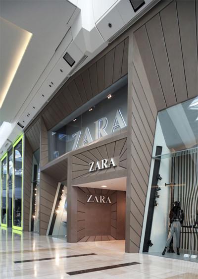 Zara Front Store Design