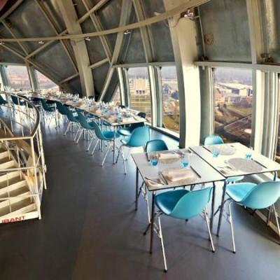 restaurant design atomium