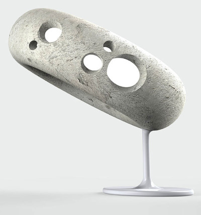 Lunar-Lamp-Design