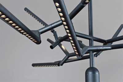 Movable Branch Light Fixture
