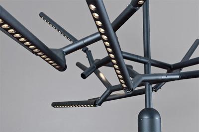 Movable Branch Light Fixture