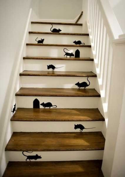 Halloween Mouse Stairs