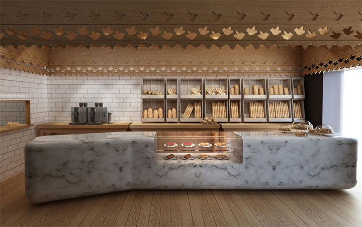 Old And New Meet In Contemporary Bakery Interior Design