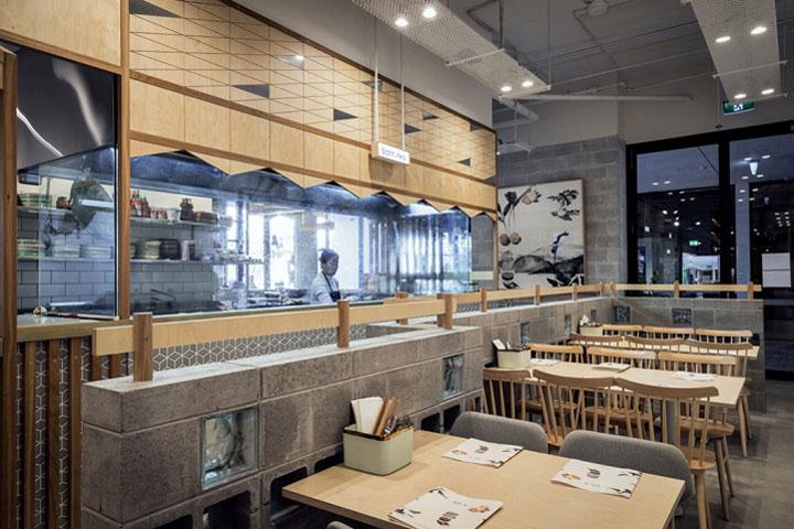 Vietnamese Restaurant Interior Design Combines Elegance And