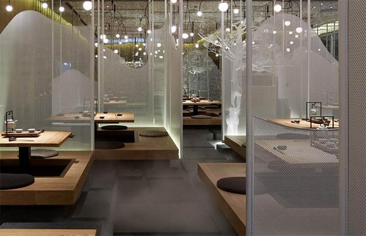 Unique Restaurant Interior Design Makes Fog An Element Of Decor