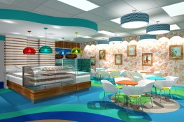 Ohana Cupcakes Store Interior Design