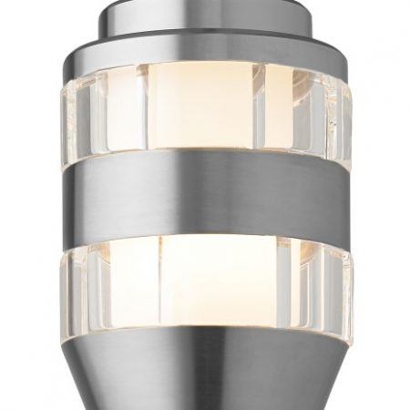 Akida Pendant Clear Satin Nickel