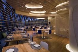 Food venue inspired by the ocean