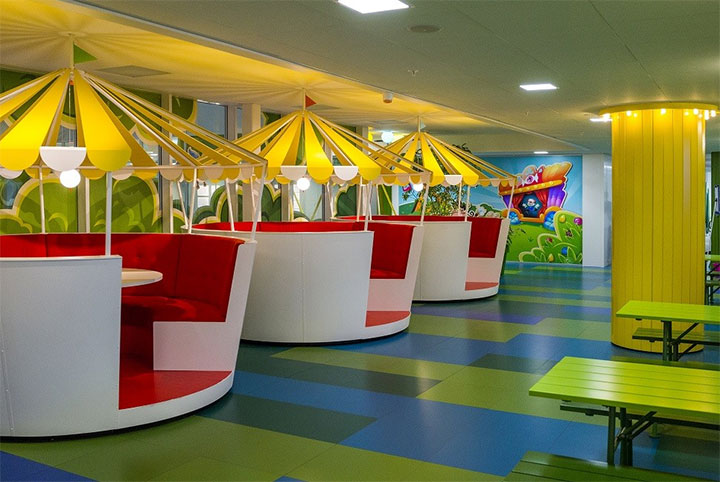 inspiring office design. Colorful-Office-Design Inspiring Office Design E