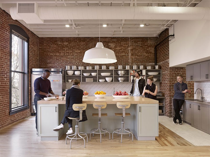 Portland Office Design Accommodates Employees Work Styles