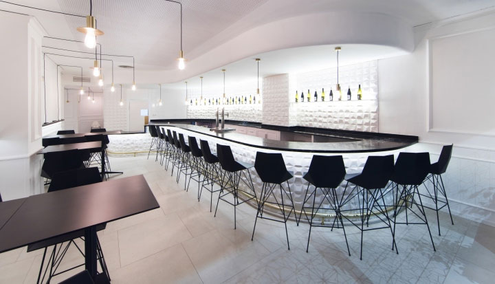 Black-and-White-Restaurant-Design
