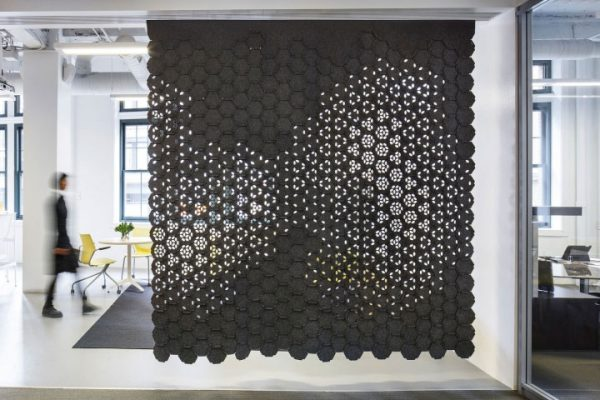 Using Wool Felt as an Interior Design Material