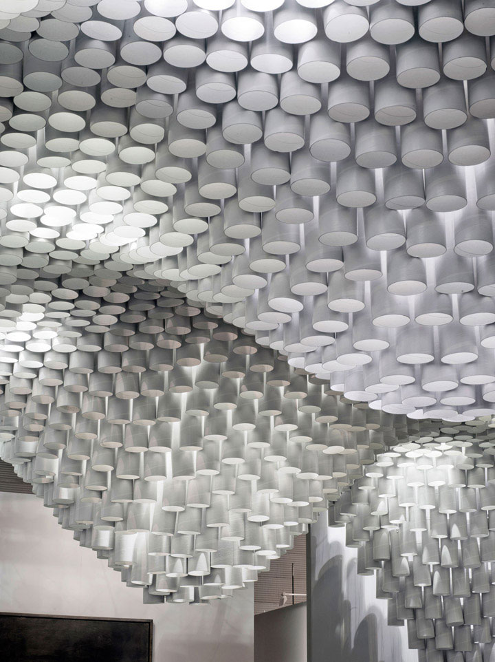 Paper-Structure-in-Ceiling-Design