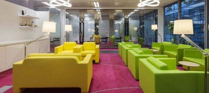 Colorful Furniture in Office Design