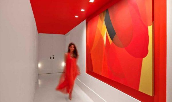 colorful hotel interior design
