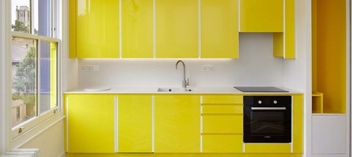 Colorful Wood Floors in Interior Design