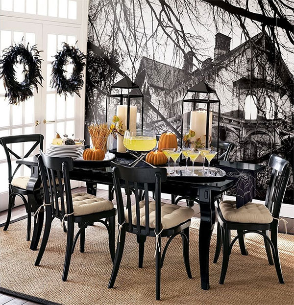 halloween-simple-table-decor