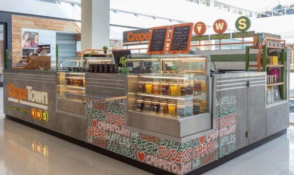 Subway Inspired Dessert Kiosk Design