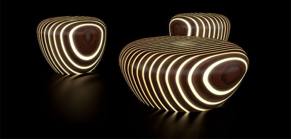 Unexpected Materials in Furniture Design